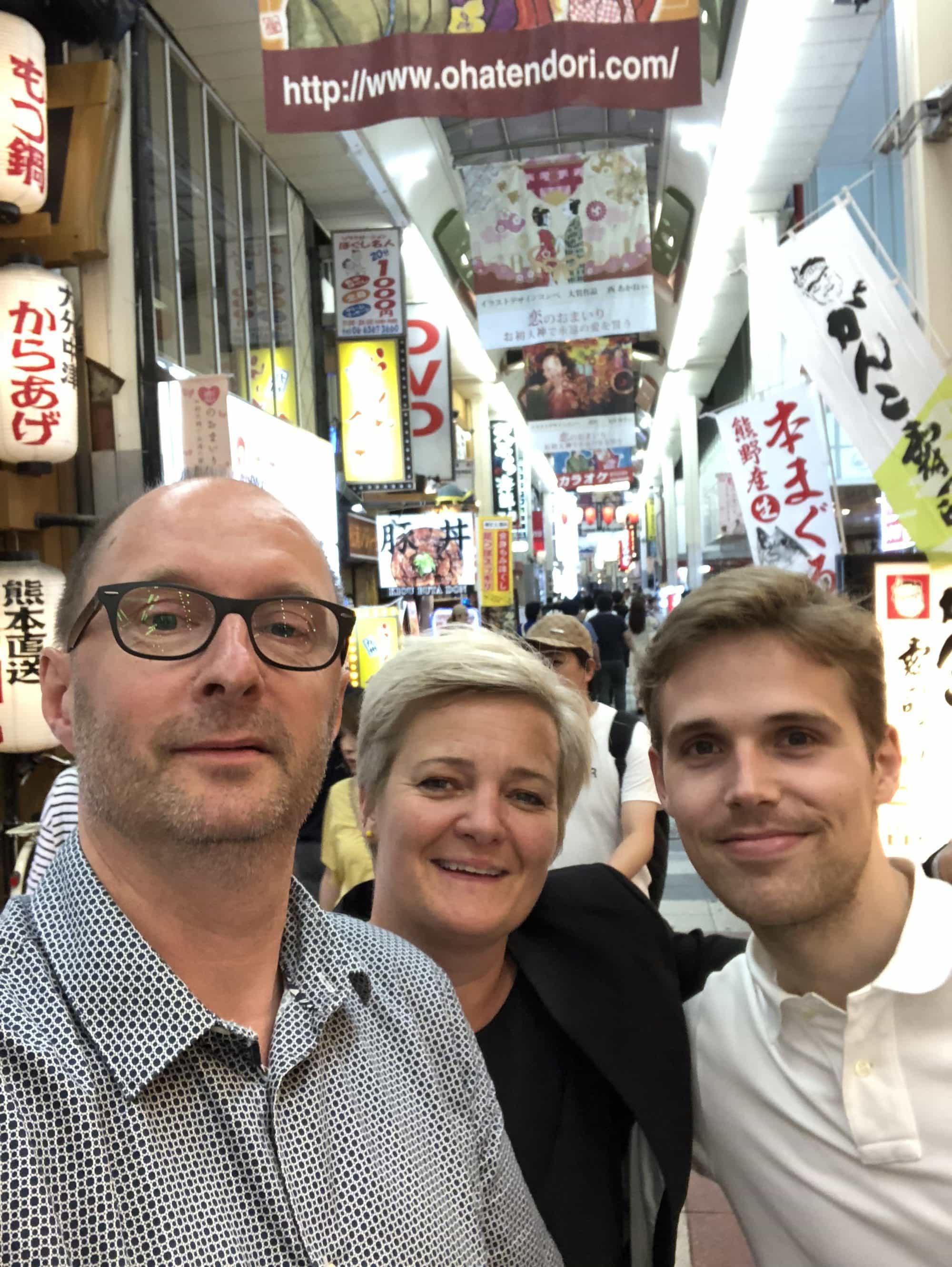 Vi åbner datterselskab i Kobe, Japan.